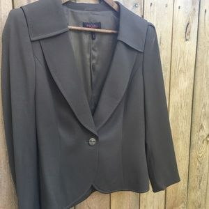 Escada Lightweight Wool Blazer sz 40 EUR/ 10 US